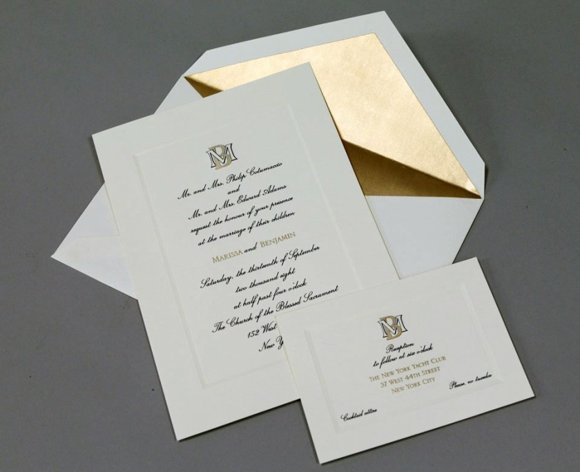 Wedding Invitation Philippines Simple Design Customized