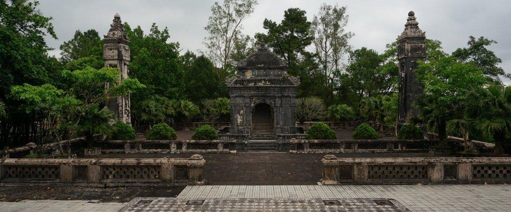 Imperial Tombs, Hue - Vietnam | gpx recorrido moto tumbas imperiales Hue