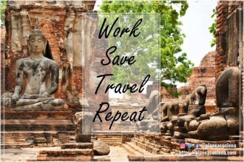 Work, save, travel, repeat - Anónimo