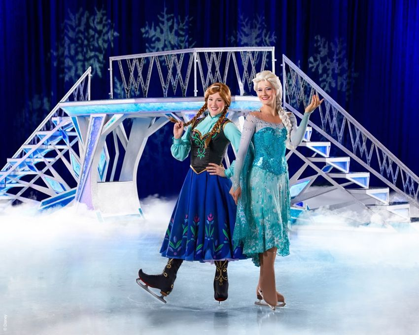 Disney on ice Mundos Encantados frozen