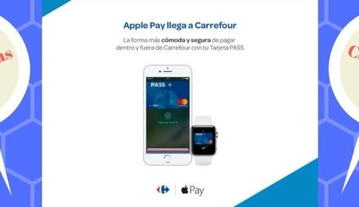 apple pay en carrefour