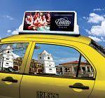 anuncios en taxis