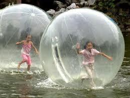 bolas flotantes