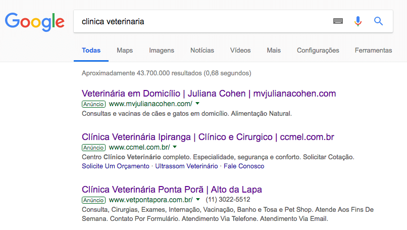 marketing digital para clinica veterinária