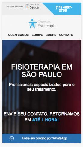 Marketing online para consultorio de fisioterapia