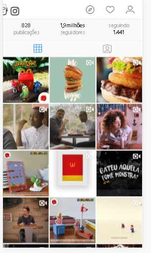 publicidade para hamburgueria