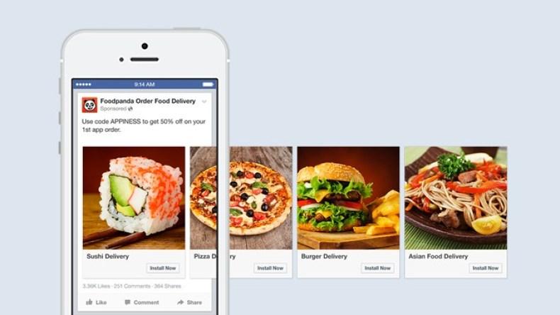 formatos de anúncios no facebook