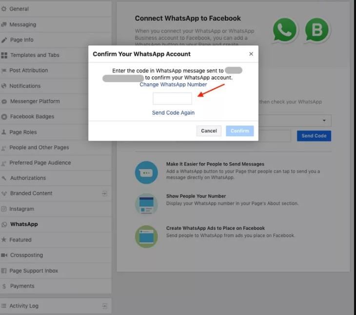 Como Colocar O Link Do Whatsapp No Facebook 2