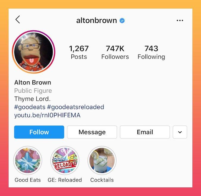 bom exemplo de trocadilho bio do Instagram