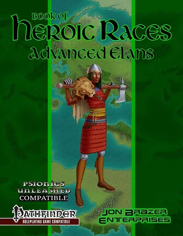 Book of Heroic Races: Advanced Elans