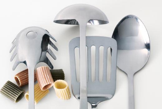 Utensílios de cozinha Ikea.