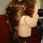 Penteados para noivas e madrinhas de cabelo liso - Foto de Cristina Helena