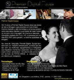 Casamento: empresa de fotografia Premier Digital Equipe: propaganda enganosa