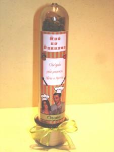 Casamento: Lembrancinha de chá de cozinha - pote de orégano