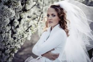 Casamento: noiva de inverno