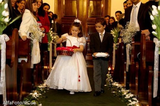 Guia de daminha de honra e pajem de casamento