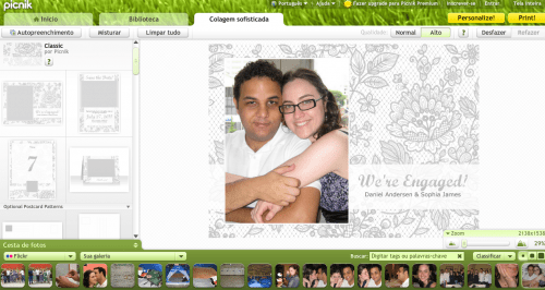 Como fazer save the date no Picnik, do Google Weddings