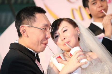 Casamento no McDonald's