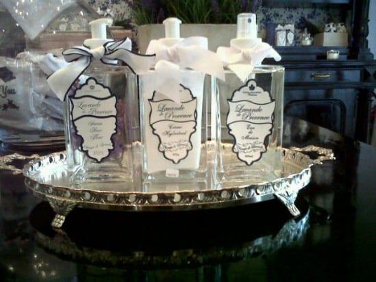 Casamento: kit de lavabo da Tânia Bulhões Perfumes