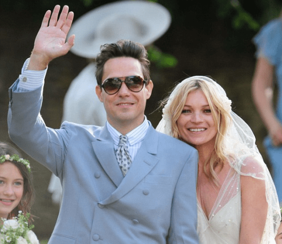 James Hince (noivo Kate Moss) casamento