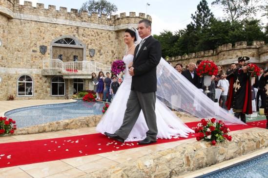 Pai da noiva - casamento castelo