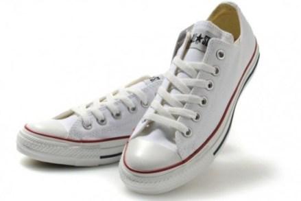 Calçados de noiva: All Star Converse branco