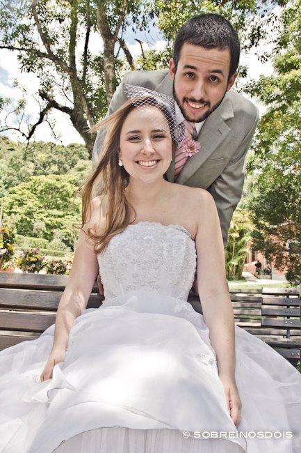 Casamento no campo: Aline e Gustavo. Foto: Sobre Nós Dois.