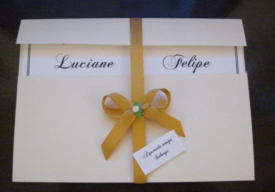 Luciane Ensina Como Fazer Convite De Casamento Planejando Meu
