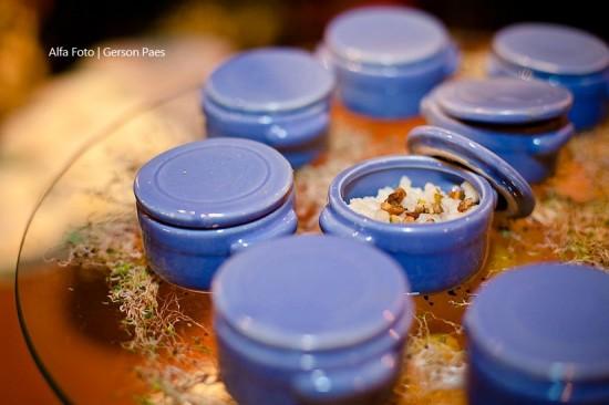 Finger foods de casamento: risoto. Foto: Alfa Foto.