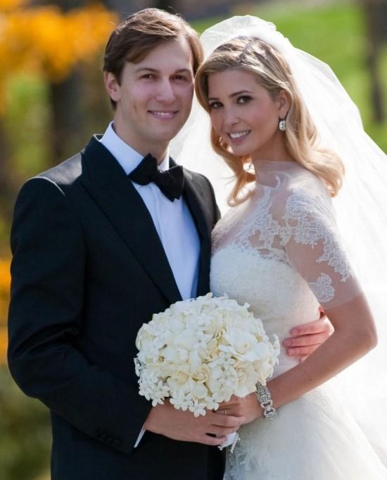 Vestido de casamento de Ivanka Trump