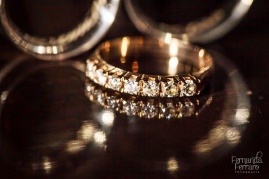 Meia aliança, anel aparador ou aliança correspondente. Foto: Fernanda Ferraro.