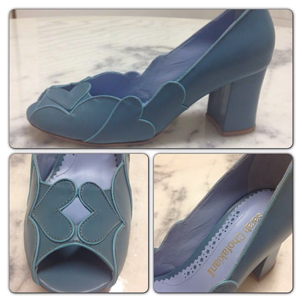 Sapato de noiva para casamento da loja Sarah Chofakian.
