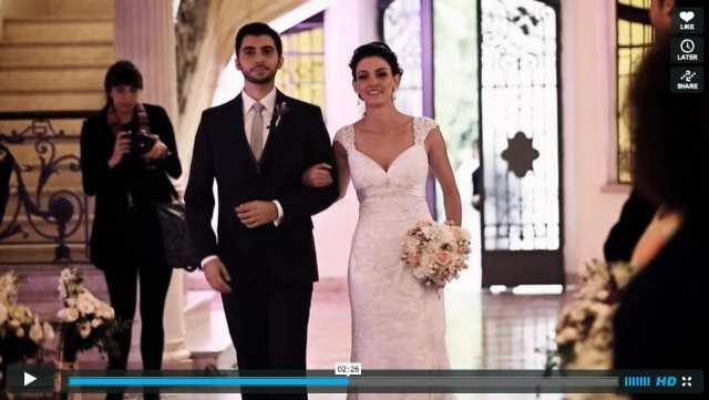 Vídeo de casamento: Juliana e Leandro, filmados pela 4GP Videojornalismo.