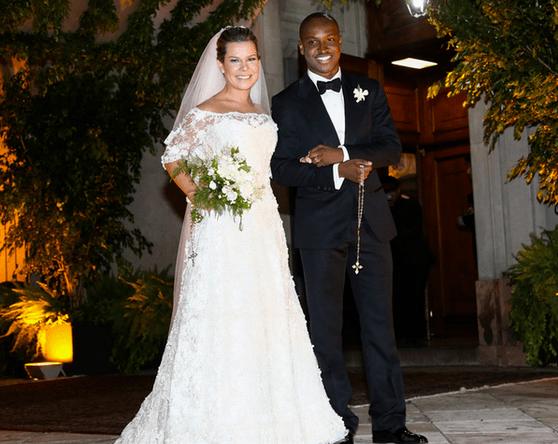Casamento Thiaguinho e Fernanda Souza: foto dos noivos.