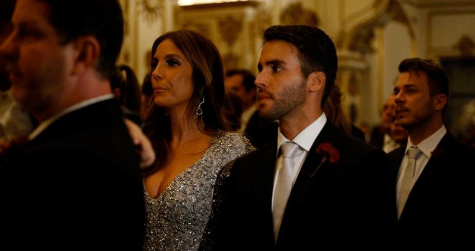 Ivete Sangalo de madrinha no casamento de Preta Gil e Rodrigo Godoy.