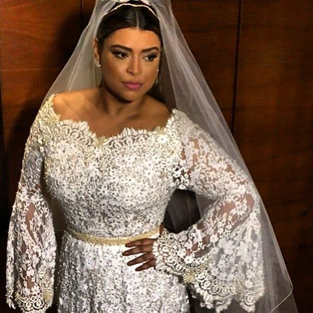 Vestido de noiva do casamento de Preta Gil e Rodrigo Godoy.