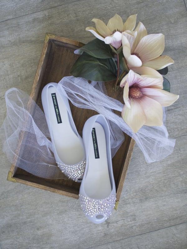 Melissa Wedding: coleção de calçados para noivas em casamentos.