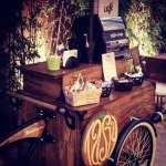 Food bike de café para casamentos da Tasty Coffee.