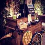 Food bike de café para casamentos da Tasty Coffee.