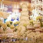 Mesa de doces. Casamento ostentação do casal milionário Djalma e Priscila. Foto: Celso Junior e Ueslei Marcelino.