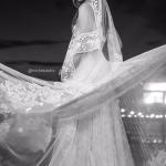 Véu de noiva de Marcella, noiva de Mateus. Casamento Mateus e Marcella (da dupla Jorge e Mateus). Fotos: Michel Castro.