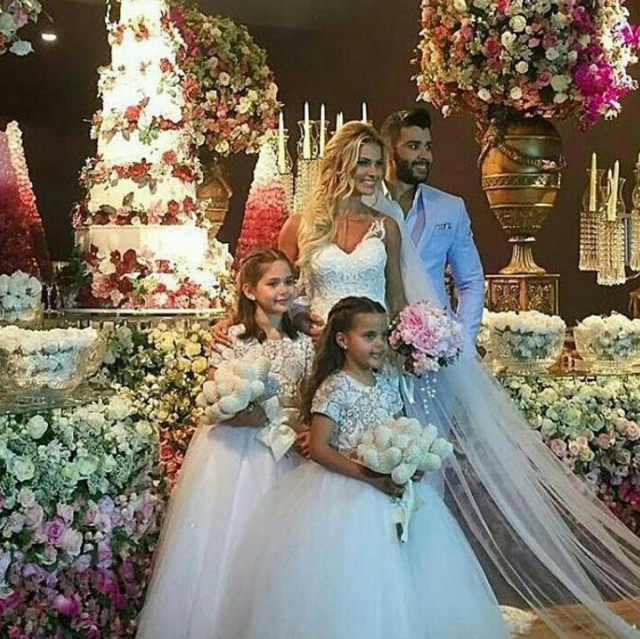 Fotos do casamento Gusttavo Lima e Andressa Suita.