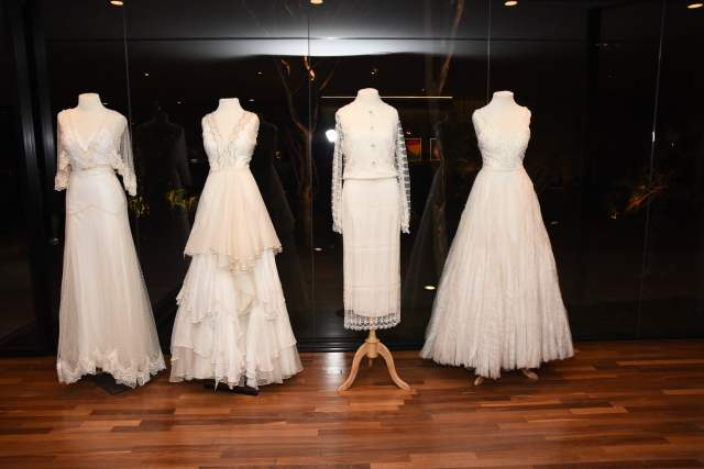 Tiffany Love Stories: vestidos de noiva vintage de Emannuelle Junqueira. Foto: Divulgação.