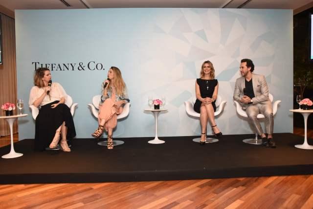 Tiffany Love Stories: painel com especialistas em casamento no evento de noivas em São Paulo. Foto: Divulgação.
