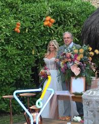 Entrada da noiva do Casamento de Karina Bacchi e Amaury Nunes. Foto: @nezacesar
