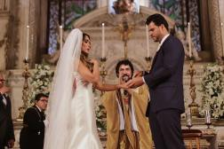 Igreja do casamento Nicole Bahls e Marcelo Bimbi. Foto: @paulobezerra_3