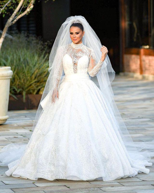 Vestido de noiva Viviane Araújo