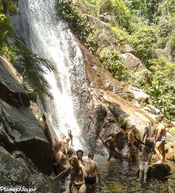 Cachoeira da Feiticeira em Ilha Grande
