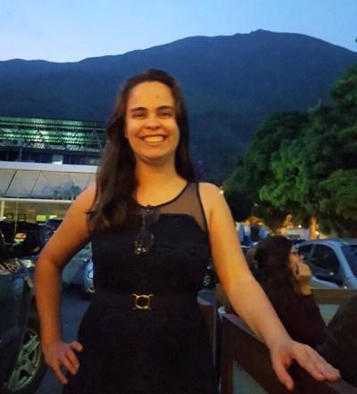 Ana Beatriz em Caracas