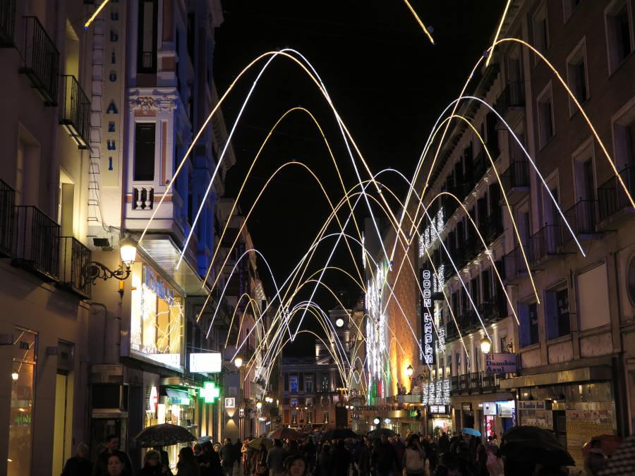 Curiosidades sobre las luces de Navidad en Madrid 20182019